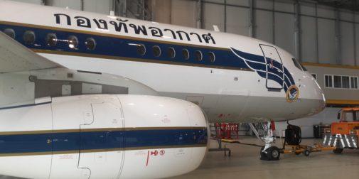 SSJ 100 для тайланда