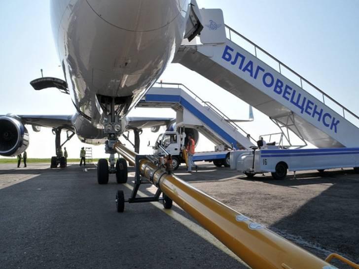 аэропорт Благовещенска