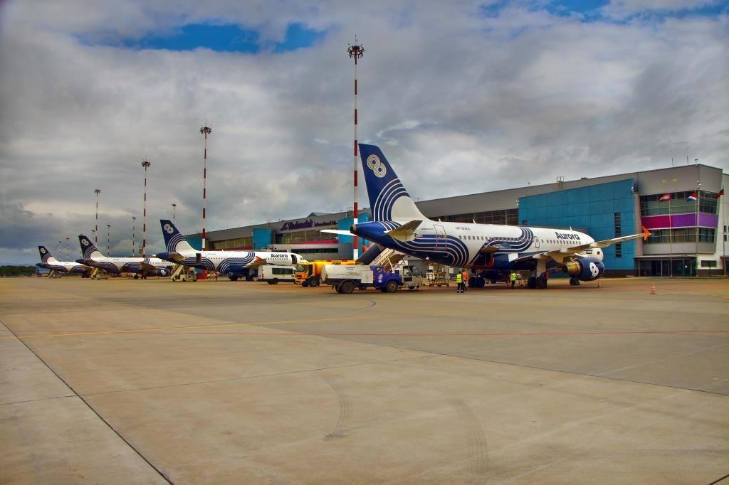 Международный аэропорт Владивосток переходит на зимнее расписание полетов