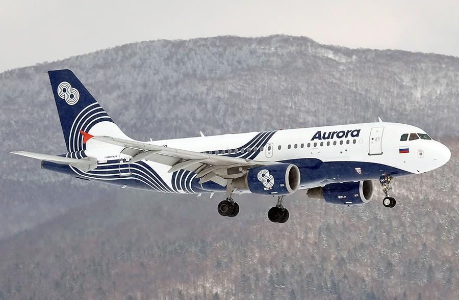 зимнее расписание авиакомпании аврора