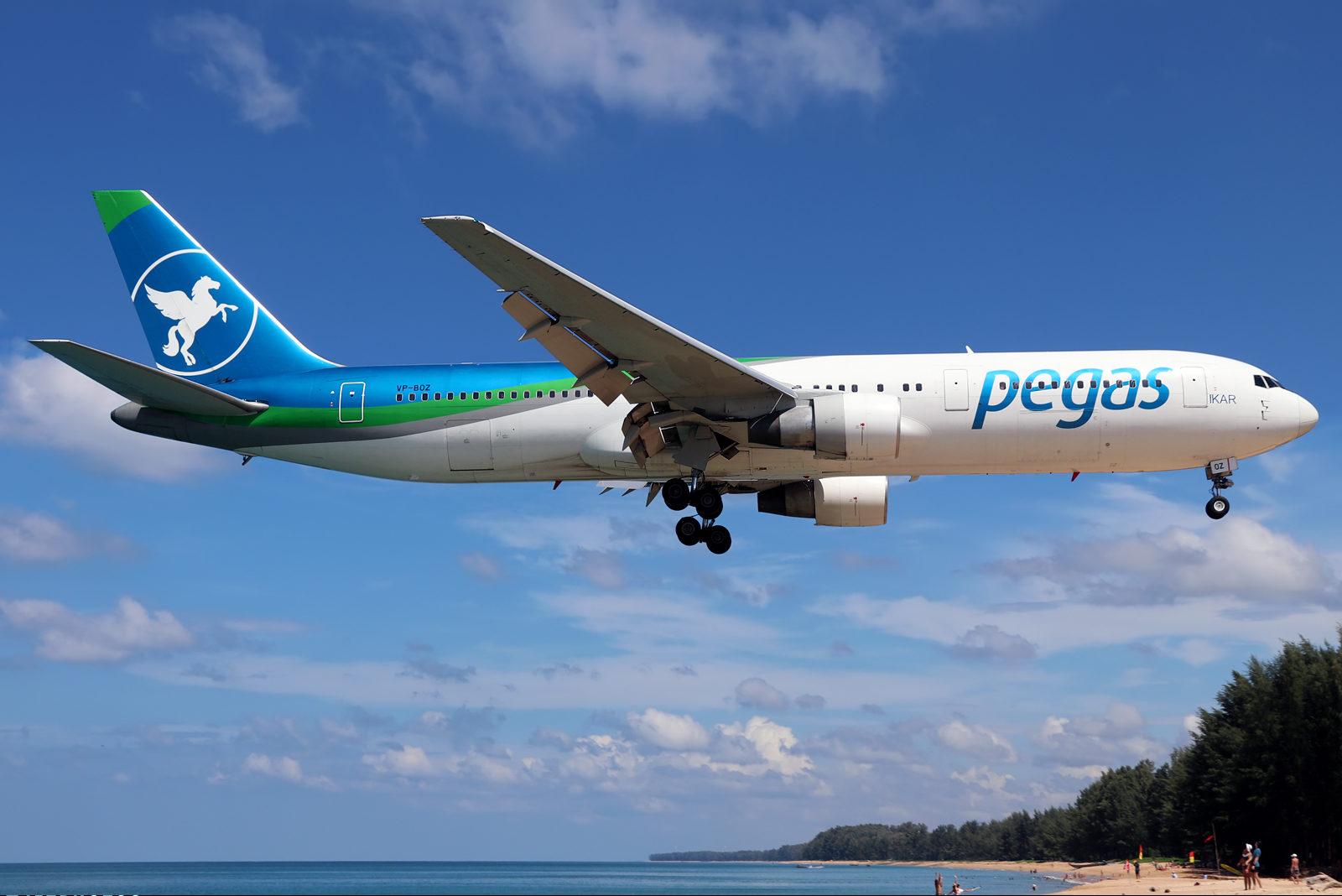 Авиакомпания Pegas Fly снова начала выполнять чартерные рейсы с аэропорта Петропавловска-Камчатского