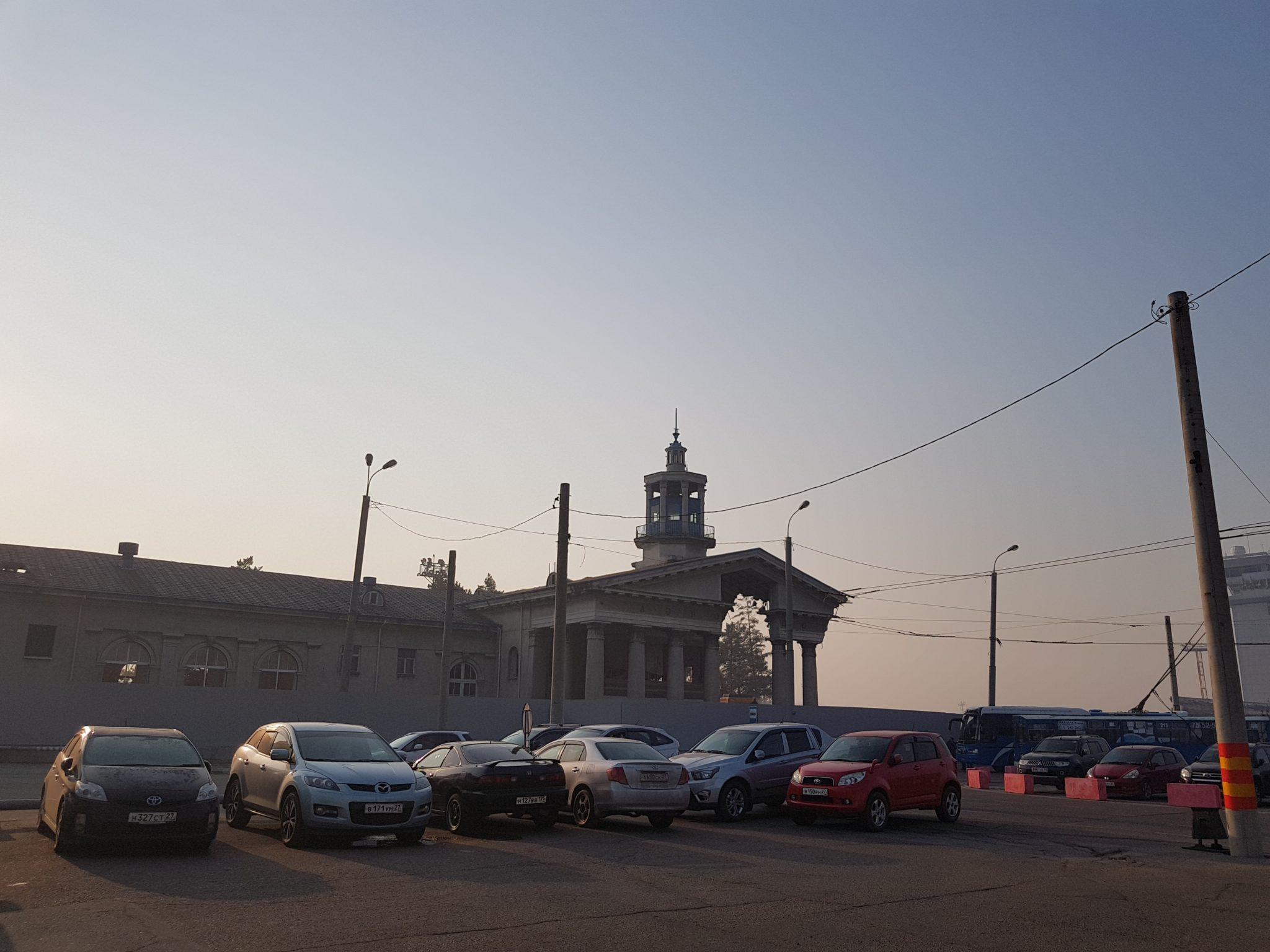 В хабаровском аэропорту сносят здание середины прошлого века