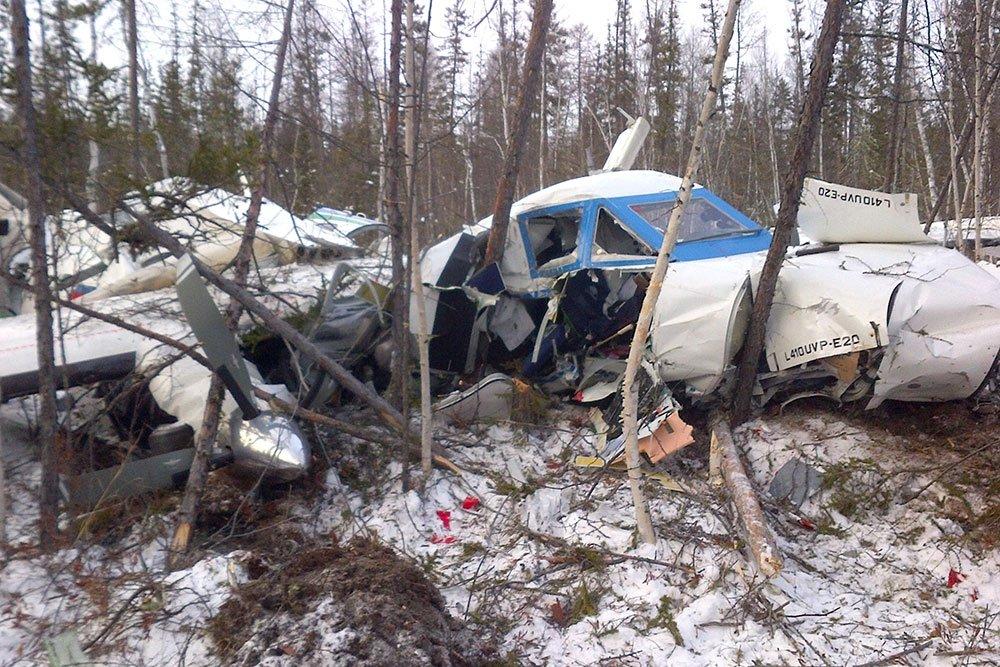 При аварии самолета в Хабаровском крае погибли шесть человек.