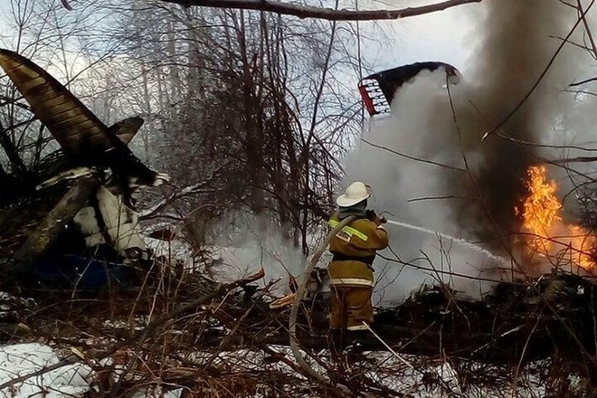 Крушения самолета Ан-2 в Приамурье