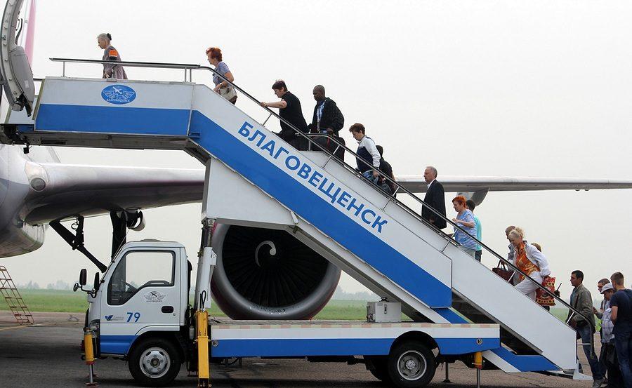 Авиакомпания Уральские авиалинии увеличивает количество рейсов из аэропорта Благовещенска в Екатеринбург